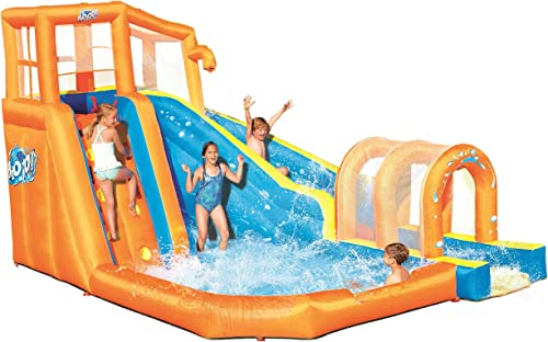 popular Bestway Hurricane Tunnel Blast Inflatable Water discount Park Play Center   Includes Big Water Slide, popular Water Blob, Climbing Wall, and Pool Area   Outdoor Summer Fun for Kids & Families online sale