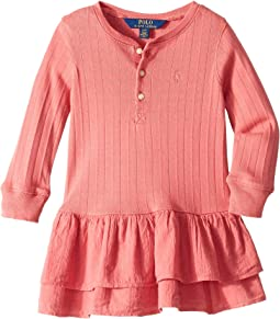 Cotton Henley Dress (Toddler)