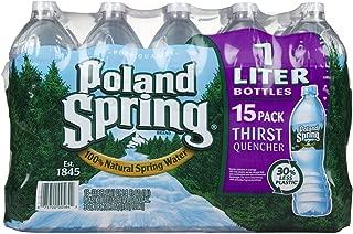 Poland Spring Spring Water - 33.8 oz - 15 ct