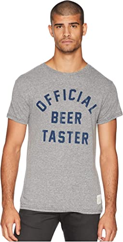 Official Beer Taster Vintage Tri-Blend Tee
