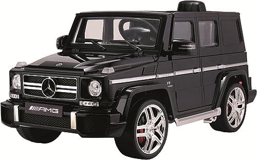 F Style Electric - Vo33g63 - Voiture électrique sous Licence Mercedes G63 - 2 X 35 W - 12 V - 7000 Mah - Noir