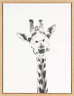 Best black and white giraffe wall art Reviews