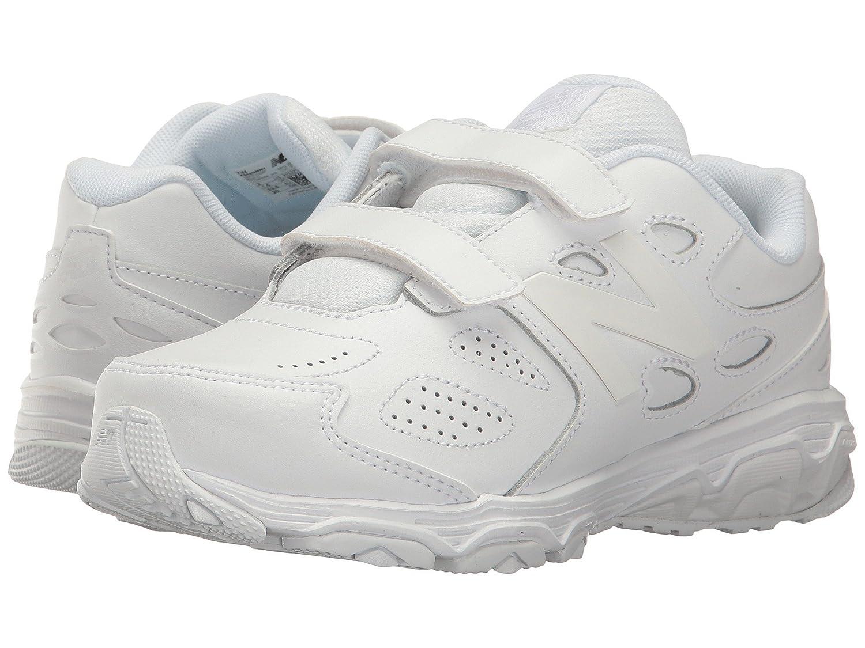 (ニューバランス) New Balance メンズランニングシューズ?スニーカー?靴 KE680v3 (Little Kid/Big Kid) White/White ホワイト/ホワイト 5.5 Big Kid (24cm) XW