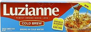 Luzianne Cold Brew Black Tea, 22 Count