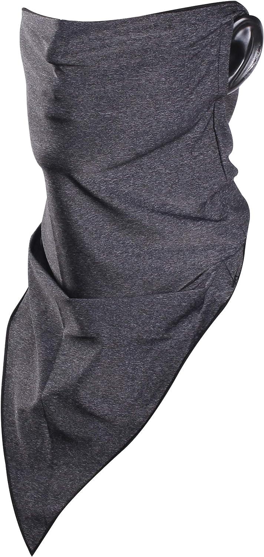 Bun Large Neck Gaiter Genuine Free Shipping Earloops Breathable Warm Jacksonville Mall Mask Bandana Face