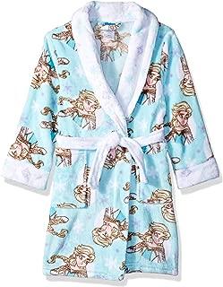 Girls' Frozen Elsa Luxe Plush Robe
