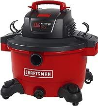 CRAFTSMAN 17594 12 Gallon 6 Peak HP Wet/Dry Vac, Portable Shop Vacuum with Attachments