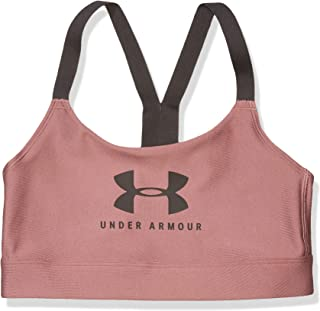 Under Armour Armour Mid Keyhole Bra Graphic Sports Bra