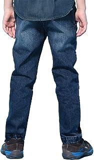 LEO/&LILY Boys Husky Waist Regular Fit Thin Jeans Pants Trousers LLB632