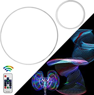 Maylai Professional Remote Control Led Hula Hoop, 90 LED's and 300+ Light Patterns Fully Rechargeable!