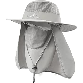 Fishing Hat,Sun Cap with UPF 50+ Sun Protection and Neck Flap,for Man and Women