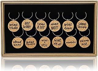 wine charm favors wedding