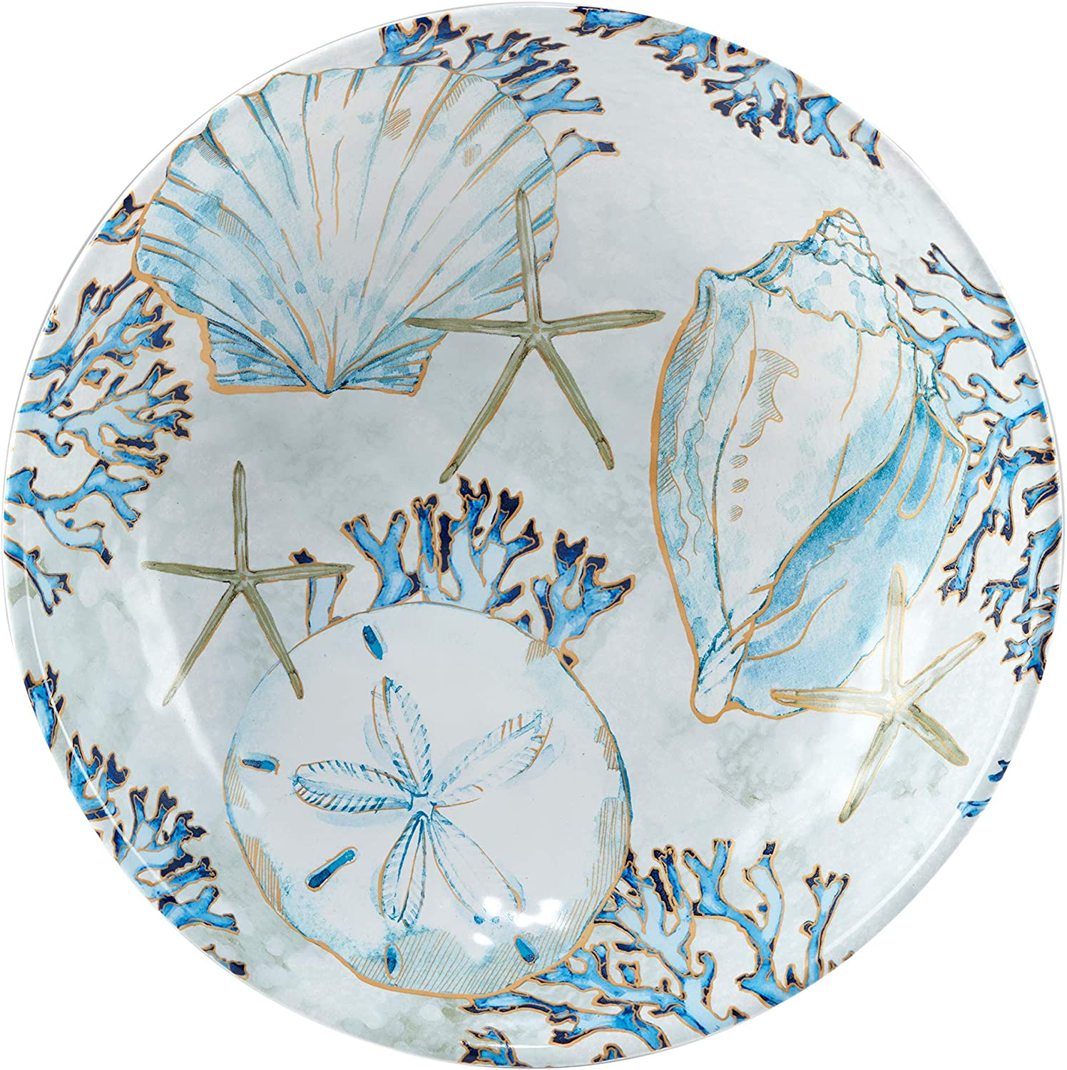 Certified International Challenge Max 75% OFF the lowest price Playa Shells oz Serving 144 Bowl