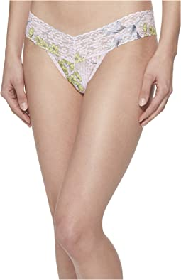 Garden Stripe Low Rise Thong