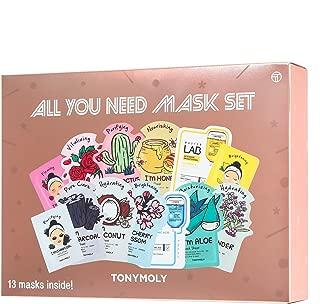TONYMOLY All You Need Mask Set, 9 oz.
