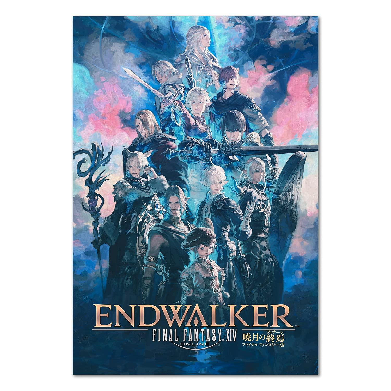 Final Fantasy XIV 14 Online: Endwalker Key At the Nippon regular agency price Poster - Official A