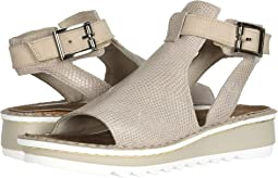 Beige Lizard Leather/Beige Nubuck