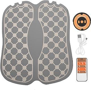 Almohadilla de masaje eléctrica, inteligente EMS Almohada de masaje de pies Fisioterapia Masajeador de pies Cojín de pierna con forma recargable Cojines de pierna con forma de USB portátil