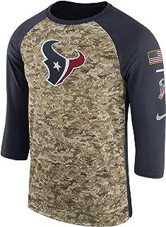 salute to service texans shirt
