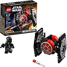 LEGO Star Wars: The Force Awakens First Order TIE Fighter Microfighter 75194 Building Kit (91 Piece)