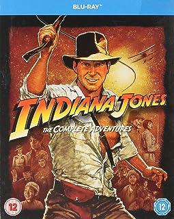 Indiana Jones The Complete Adventures [Blu-ray] (Region Free)