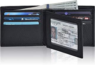 Men's Leather RFID Blocking Bifold Wallet