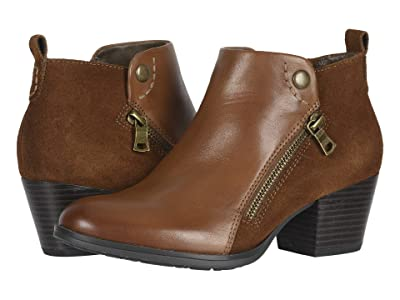 Earth Conway Maple (Saddle Eco Calf/Cow Suede Eco) Women