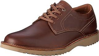 ROCKPORT Men's Casual Cabot Plain Toe Shoe, Brown