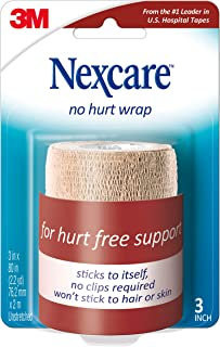 Nexcare Coban Self-Adherent Wrap, 3-Inch x 5-Yard Roll, 1-Count Boxes (Pack of 6)