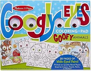 Melissa & Doug Wacky Animals - Googly Eyes Coloring Pad Toy
