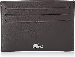 Lacoste NH1346FG Fg Credit Card Holder, Dark Brown, 11 Centimeters
