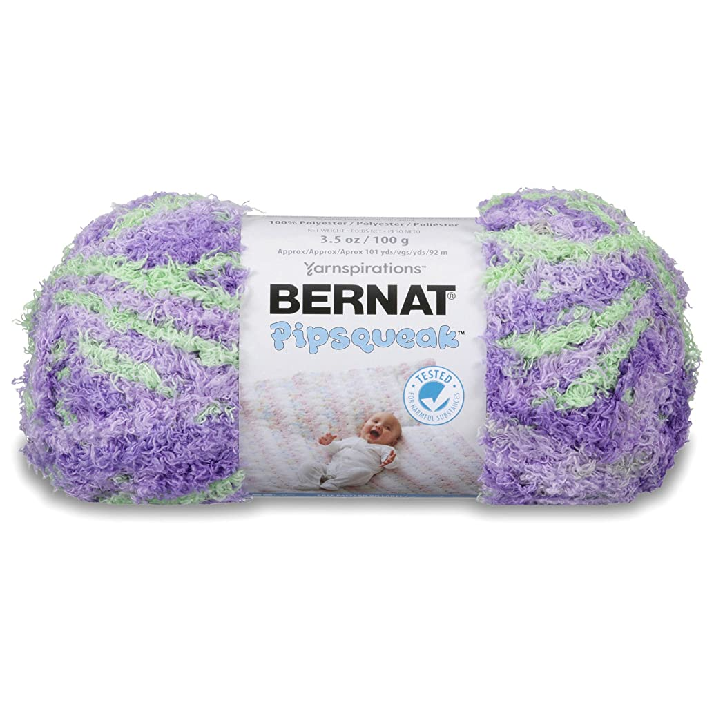 Bernat Pipsqueak Yarn, 3.5 oz, Gauge 5 Bulky, Pixie Pow