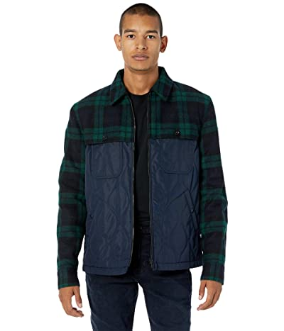 BELSTAFF Lodge Puffer Jacket (Dark Ink/Navy/Green) Men