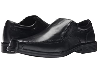 Dockers Edson Moc Toe Loafer (Black Polished Full Grain) Men