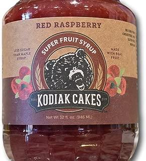 Kodiak Cakes Red Raspberry Super Fruit Syrup