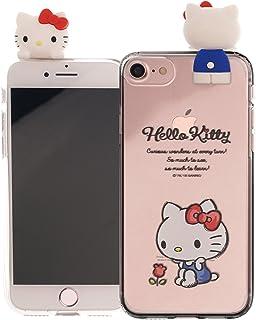 ab50f26483 iPhone SE/iPhone 5S / iPhone 5 ケース/Hello Kitty Figure ハローキティ かわいい フィギュア ソフト  TPU クリア カバー/スリム 軽量 傷防止 ピッタリフィット ...