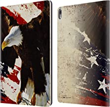 Official Jason Bullard The Cost of Freedom America Leather Book Wallet Case Cover Compatible for iPad Pro 12.9 (2018)