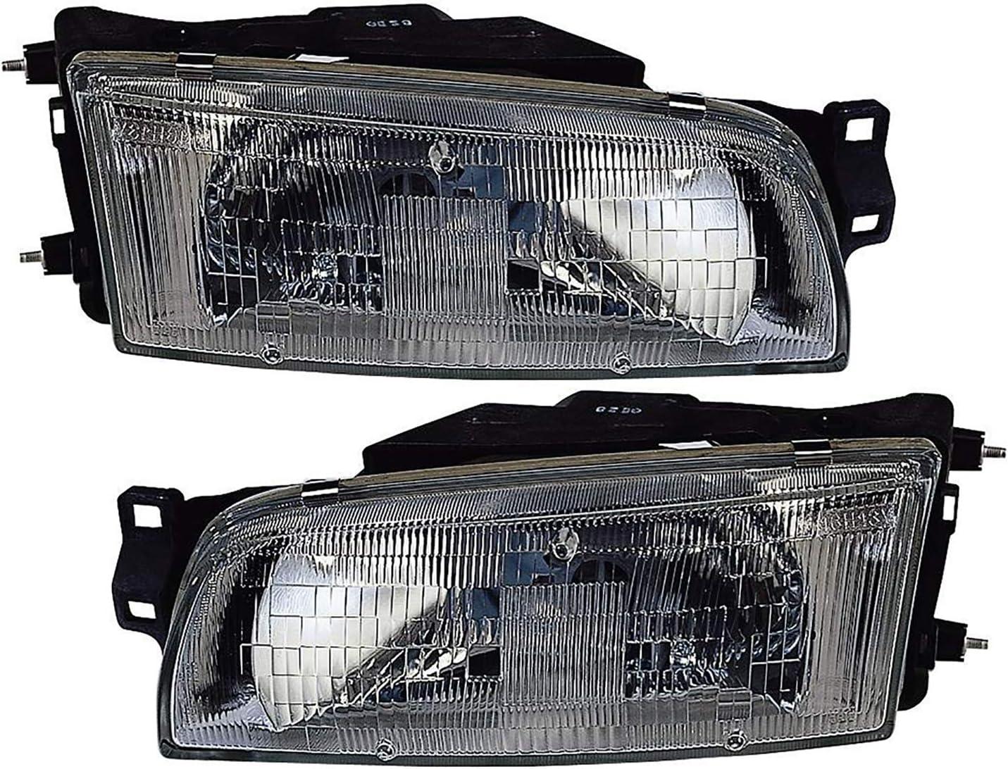 JP Auto Headlight Compatible With 1 Mirage Mitsubishi 1993 Max 66% Excellence OFF Sedan