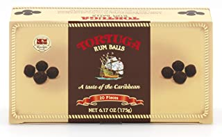 TORTUGA Gourmet Rum Balls – Premium Bites - The Perfect Premium Gourmet Gift for Gift Baskets, Parties, and Holidays - Great Valentines Day Gift for Her