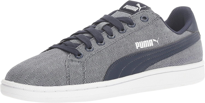 PUMA Men's Smash Herringbone Sneakers