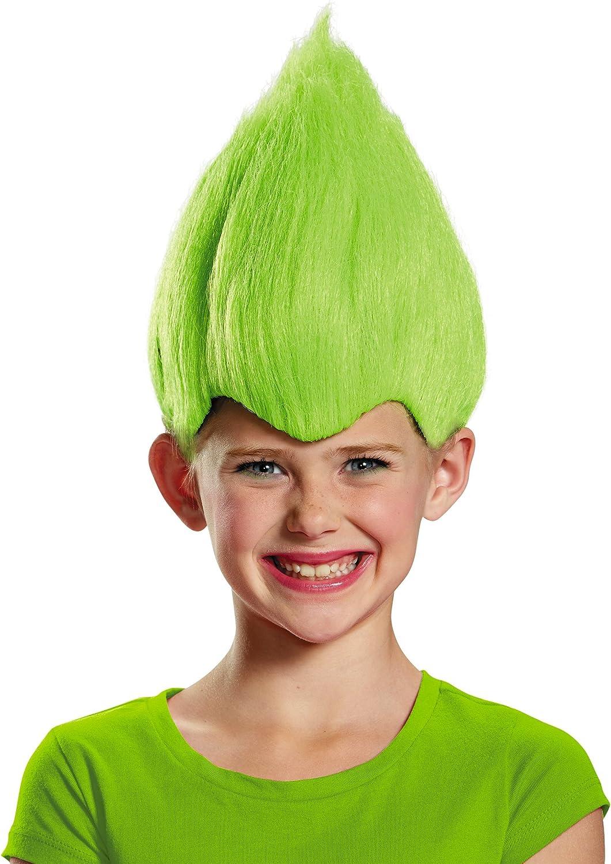 Green Wacky New product! New type Nashville-Davidson Mall Child Wig One Size