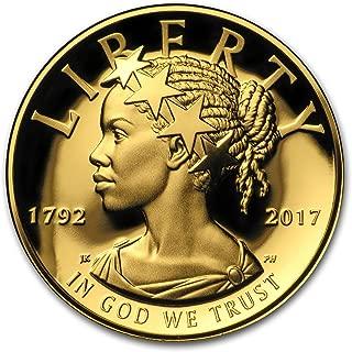 2017 W 2017 High Relief American Liberty Gold (w/Box and COA) 1 OZ Brilliant Uncirculated