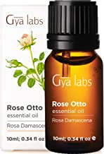 Gya Labs Rose Essential Oils for Stress Relief, Skin Care and Relaxation - Topical for Mature Skin, Dry Skin - Diffuse to ...