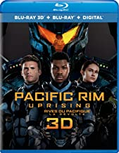 Pacific Rim Uprising [Blu-ray 3D + Blu-ray + Digital]