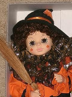Brinn's 1988 October Calendar Clown Doll Orange/Black - 14