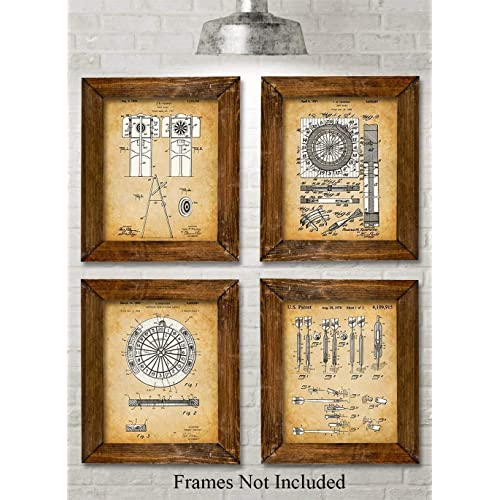 Original Darts Patent Prints