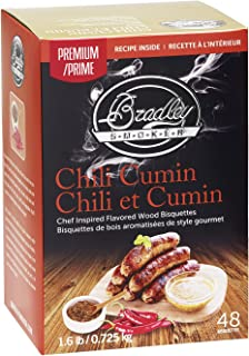 Bradley Smoker Chili Cumin Bisquettes (48 Pack)