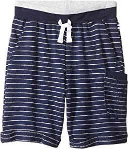 Baby French Terry Yarn-Dyed Stripe Shorts (Toddler/Little Kids/Big Kids)