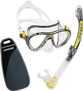 comprar comparacion Cressi Big Eyes Evolution Conjunto Combo de Snorkel, Unisex Adulto