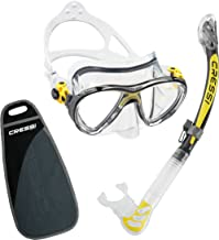 Cressi Big Eyes Evolution and Alpha Ultra Dry Snorkeling/Diving Combo